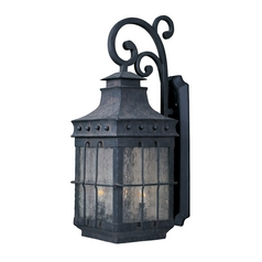 Maxim Lighting Nantucket Country Forge Outdoor Wall Light