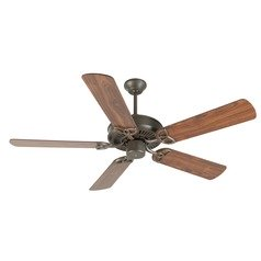 Craftmade Lighting Cxl Aged Bronze Textured Ceiling Fan Without Light