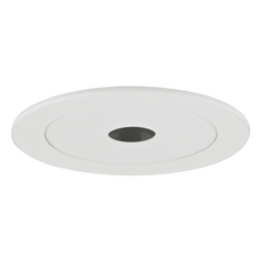 White Pinhole PAR20 Trim for 4-Inch Recessed Cans