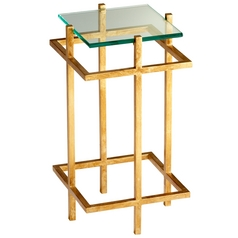 Cyan Design Gold Leaf Coffee & End Table