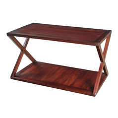 Sterling Lighting Mahogany Coffee & End Table
