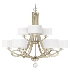 Capital Lighting Hutton Winter Gold Chandelier