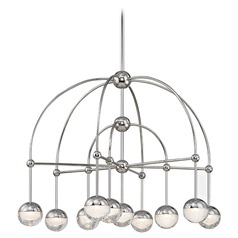 Hudson Valley Lighting Boca Polished Nickel LED Chandelier