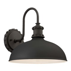Barn Light Outdoor Wall Light Black Escudilla by Minka Lavery
