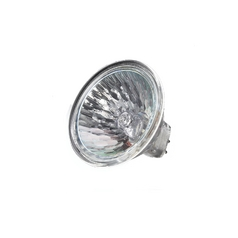 Ushio America, Inc. 10,000 Hour 35-Watt MR16 Flood Halogen Bulb with Lens Cover 35MR16/FG/ULTRA (1002237)
