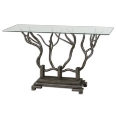 Uttermost Esher Bronze Console Table
