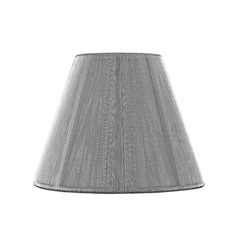Clip-On Empire Silver Lamp Shade