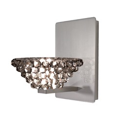 WAC Lighting Giselle Brushed Nickel Sconce