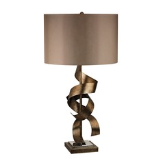 Dimond Lighting Roxford Gold Table Lamp with Drum Shade