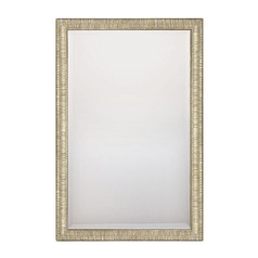 Capital Lighting Silver and Gold Rectangle Mirror 35.5x23.5