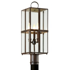 Troy Lighting Rutherford Natural Rust Post Light