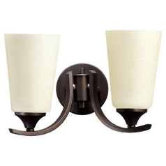Quorum Lighting Winslet Ii Oiled Bronze Bathroom Light