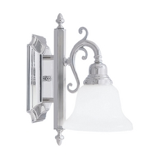 Livex Lighting French Regency Chrome Sconce