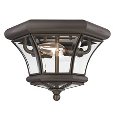 Livex Lighting Monterey/georgetown Bronze Flushmount Light