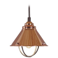 Harbour Copper LED Mini-Pendant Light by Kenroy Home