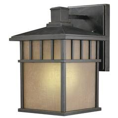 12-3/4-Inch Fluorescent Outdoor Wall Light