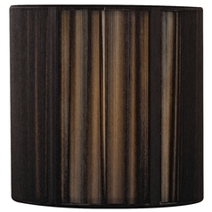Black String Drum Lamp Shade with Uno Assembly
