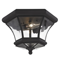 Livex Lighting Monterey/georgetown Black Flushmount Light