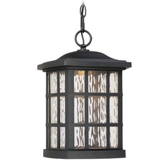 Quoizel Lighting Stonington LED Matte Black Outdoor Hanging Light