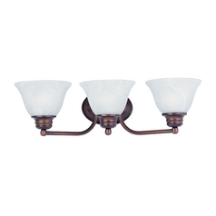 Maxim Lighting Malibu Oil Rubbed Bronze Bathroom Light