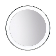 Tigris Mirror Round 29.5-Inch Illuminated Mirror