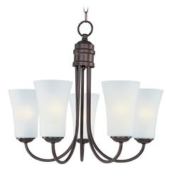 Maxim Lighting Logan Oil Rubbed Bronze Chandelier