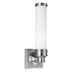 Feiss Lighting Payne Brushed Steel Sconce