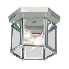 Livex Lighting Brushed Nickel Flushmount Light