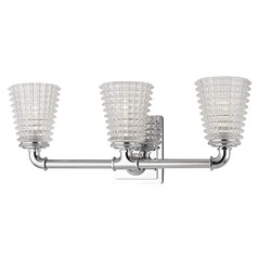 Westbrook 3 Light Bathroom Light - Polished Chrome
