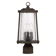 Minka Lavery Haverford Grove Oil Rubbed Bronze Post Light