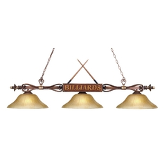 Three-Light Billiard Light