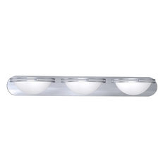 Access Lighting Aztec Brushed Steel Bathroom Light