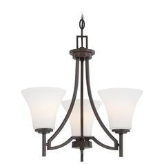 Minka Lighting Middlebrook Vintage Bronze Mini-Chandelier