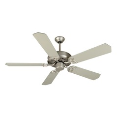 Craftmade Lighting Cxl Brushed Satin Nickel Ceiling Fan Without Light