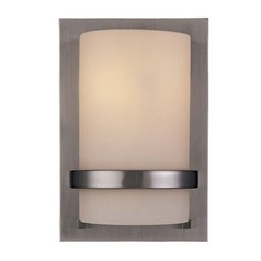 Minka Lighting Single-Light Sconce with 8-Watt LED Bulb 342-84/8W LED
