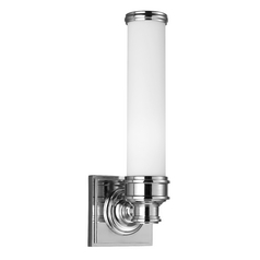 Feiss Lighting Payne Polished Nickel Sconce