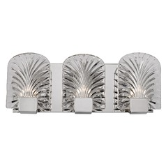 Marcy ADA 3 Light Bathroom Light - Polished Nickel