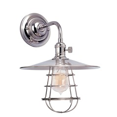 Hudson Valley Lighting Heirloom Polished Nickel Sconce