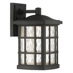 Quoizel Lighting Stonington LED Matte Black Outdoor Wall Light
