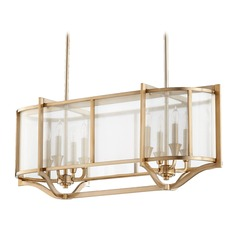 Quorum Lighting Highline Aged Brass Island Light