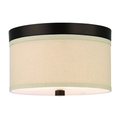Modern Flushmount Lights in Sorrel Bronze Finish