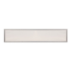 Brushed Aluminum LED Bathroom Light - Vertical or Horizontal Mounting