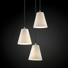 Justice Design Group Fusion Collection Multi-Light Pendant
