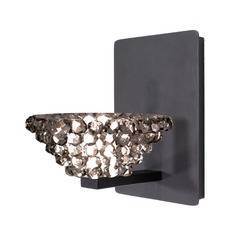 WAC Lighting Giselle Rubbed Bronze LED Sconce