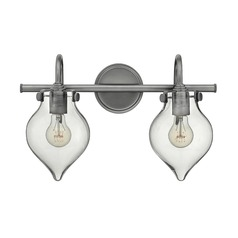 Hinkley Lighting Congress Antique Nickel Bathroom Light