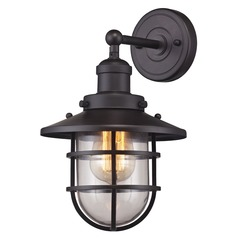 Elk Lighting Seaport Oil Rubbed Bronze Sconce