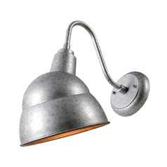 Stout Galvanized Outdoor Wall Light by Kenroy Home