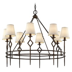 Troy Lighting Maurice Pompeii Bronze Chandelier
