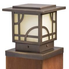 Kichler Post Deck Light in Olde Bronze Finish