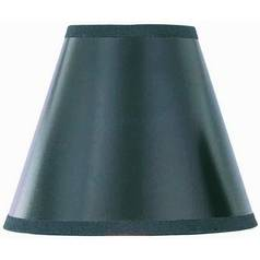 Clip-On Black Paper Hardback Lamp Shade